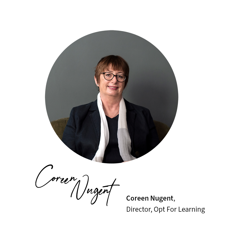 Coreen Nugent Opt for Learning